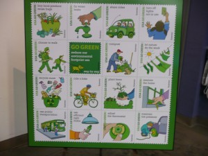 "These are the images of the 16 pictures selected for the forever stamps for Earth Day 2011 and the theme ""Go Green"""