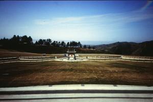 Feng Shui section of Skylawn Memorial Park
