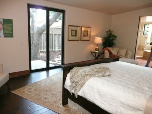 Feng Shui of Master bedroom view out doors