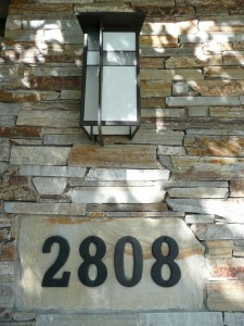 Feng Shui house numbers - 2808
