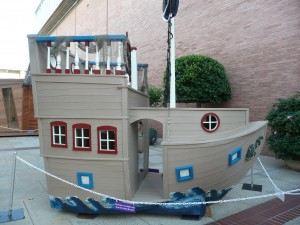 Blue Marauder Playhouse