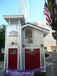 MPFA Playhouse - Menlo Park Firefighters Association Dream house Fire station No. 1