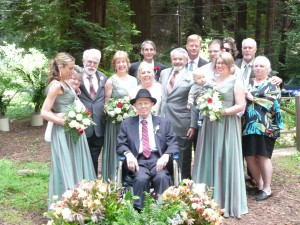 Feng Shui Woodland Wedding Party
