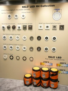 Halo's LED H4 Collection with Color Temperature Display