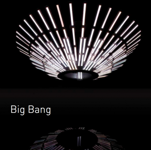 """""""Big Bang"""" OLED LIghting Design Chandelier"""