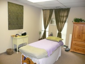 "This massage therapy office is in a great location. It's away from freeways and highway noises, in a complex with trees and clean, well-maintained grounds and doesn't have any industrial chemicals within ""wind distance"". It has wonderful Feng Shui chi location qualities for a successful Feng Shui business."
